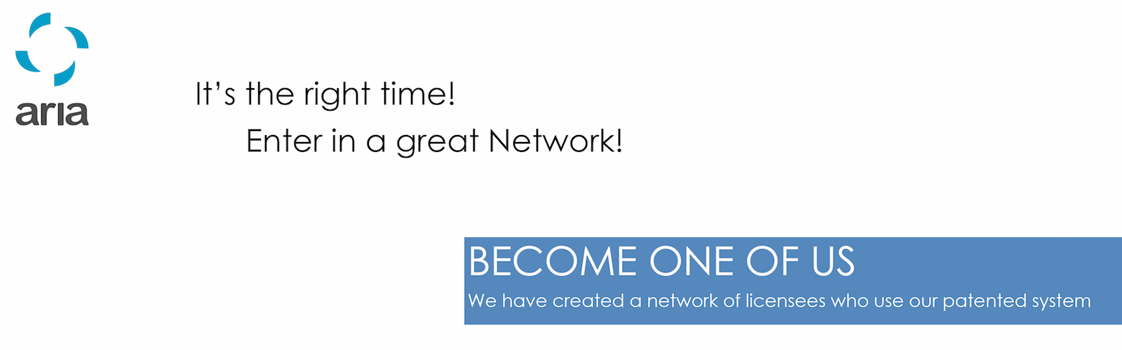 Enter in a great Network - Work with us